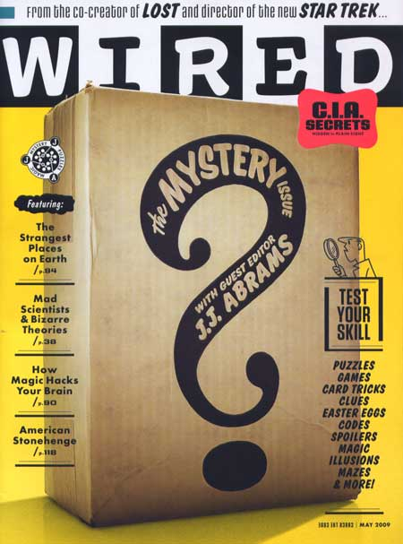 Wired May 2009: The Mystery Issue